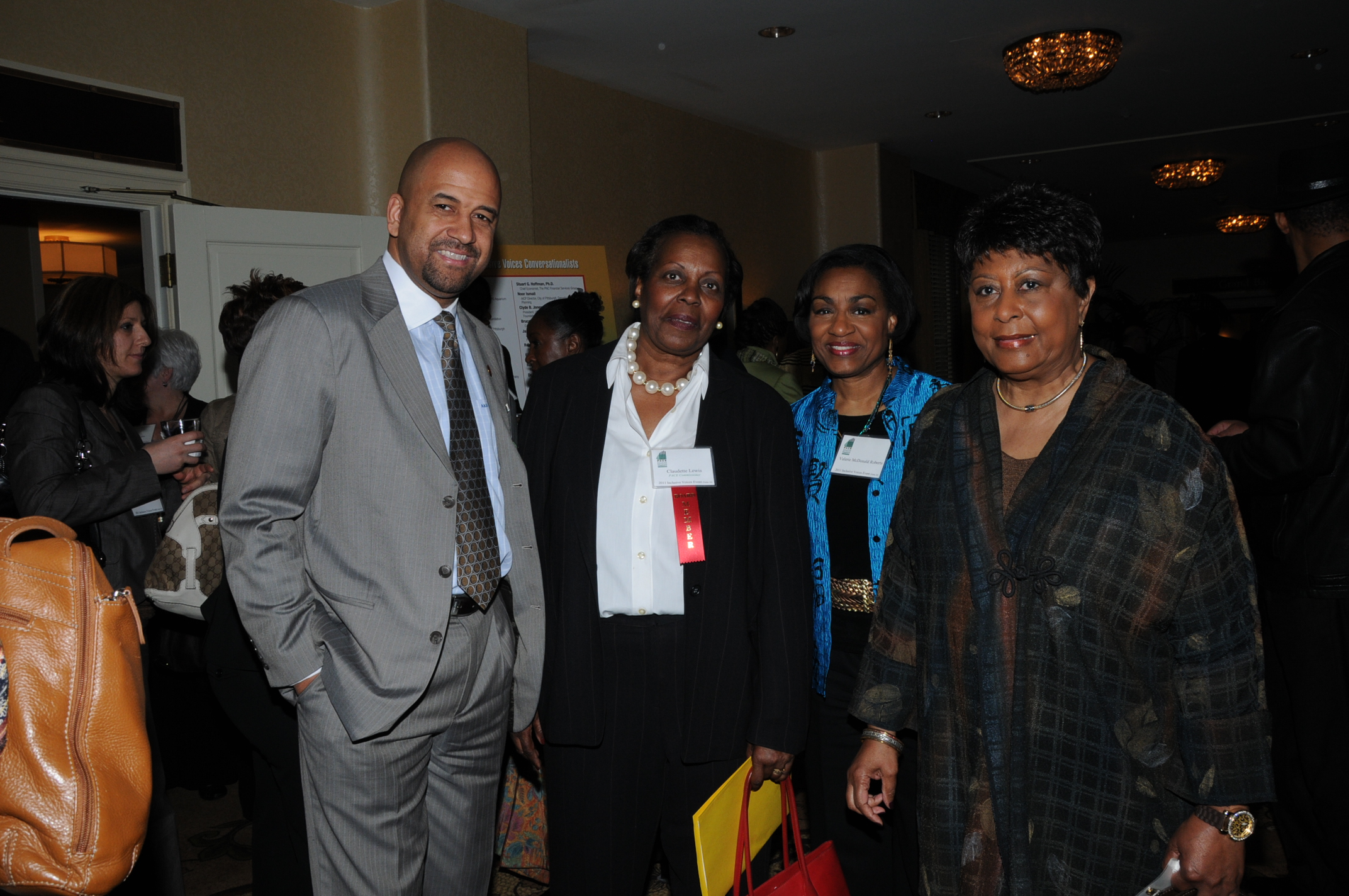 Andre Kimo Stone Guess, Claudette Lewis & Valerie McDonald Roberts.JPG