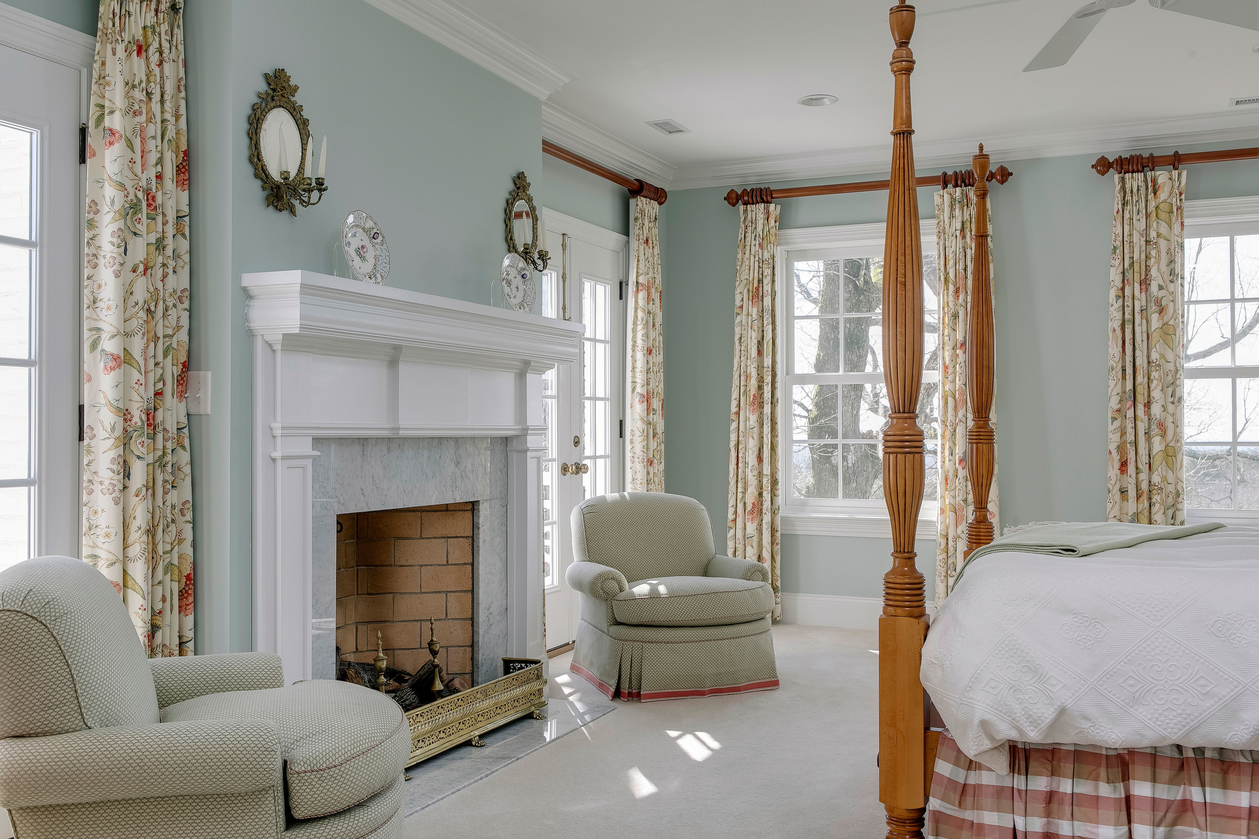Colonial Hillside by Palley & Southard Designs