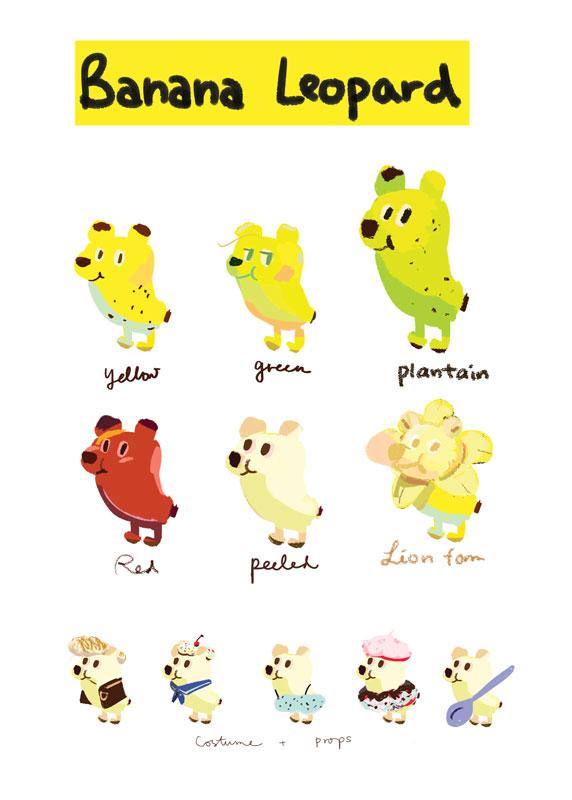 Banana Leopard Variants + skins