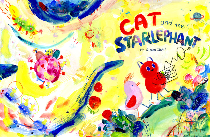 Cat and the Starlephant