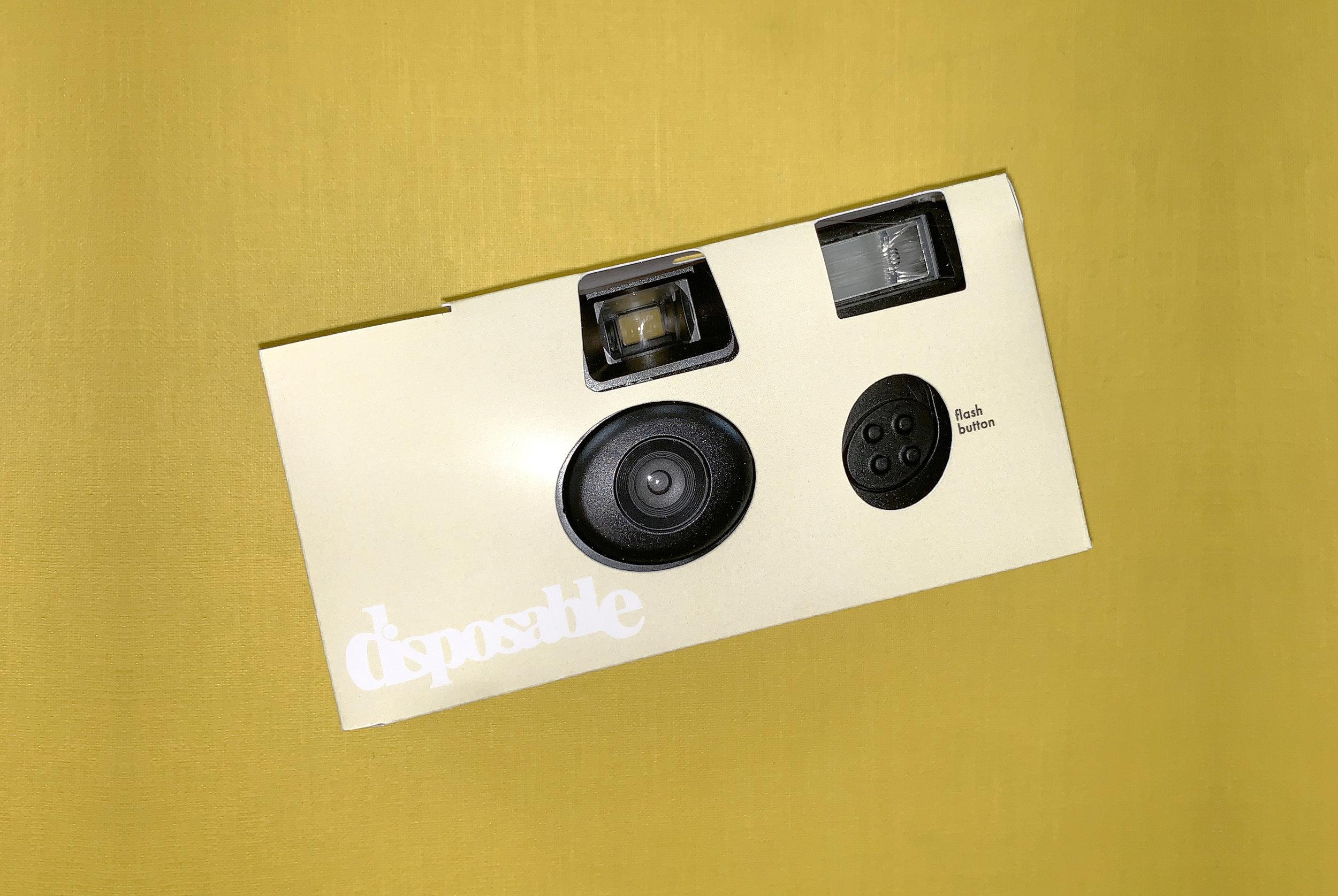 Disposable Camera – Banana Yellow  $20.00