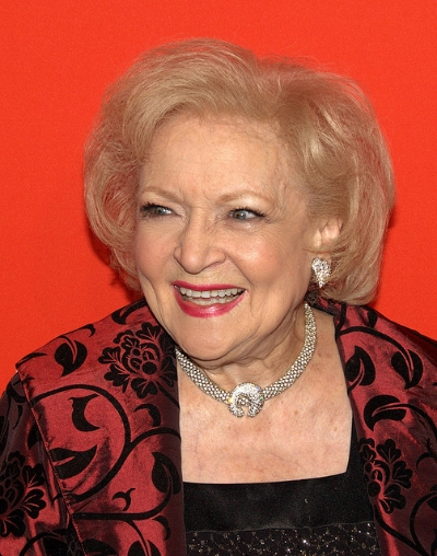 Betty White has aged so well because of her microbiome.  Photo by David Shankbone, 2010
