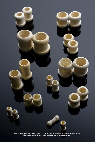 Gastrointestinal bobbins used to connect pieces of the colon and create anastomoses