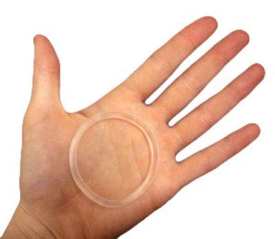 The Nuvaring, a type of vaginal ring.