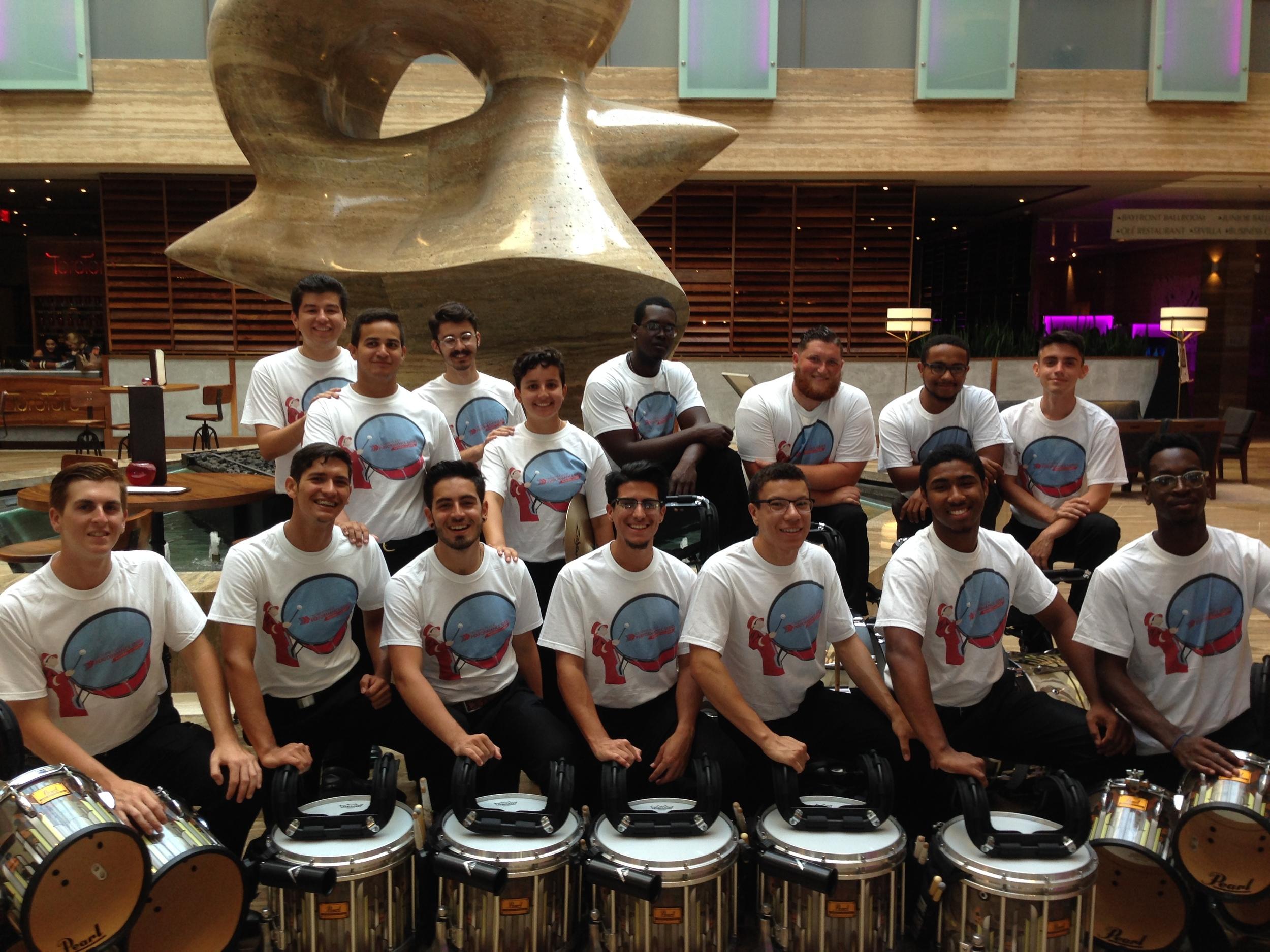 15 Member Drumline