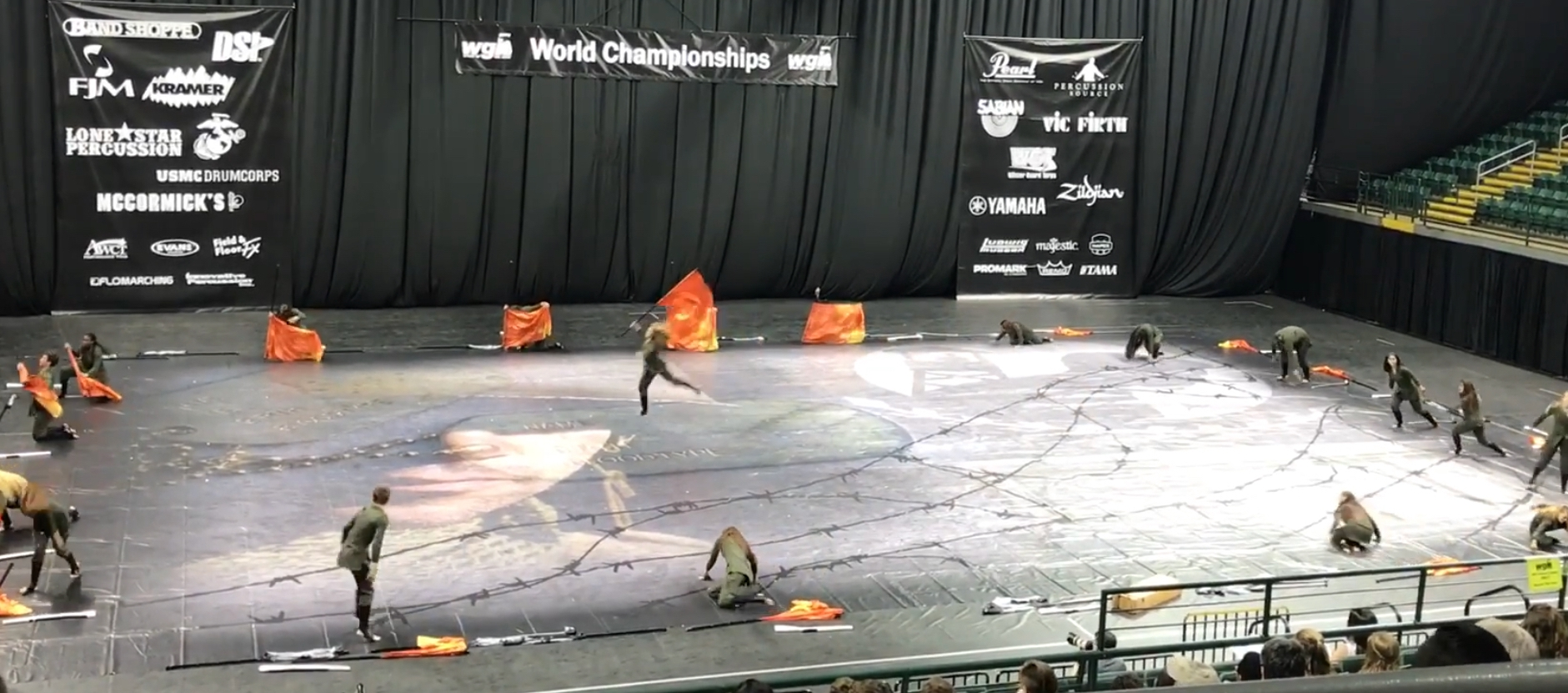- STRYKE Winterguard (SWG) 2017 Show floorPrice: $1,000Size: 55x80 FeetAvailable for pick up in Hollywood, FL. Freight quotes available upon request.Contact dyunis@stryke.org to purchase or for more information.