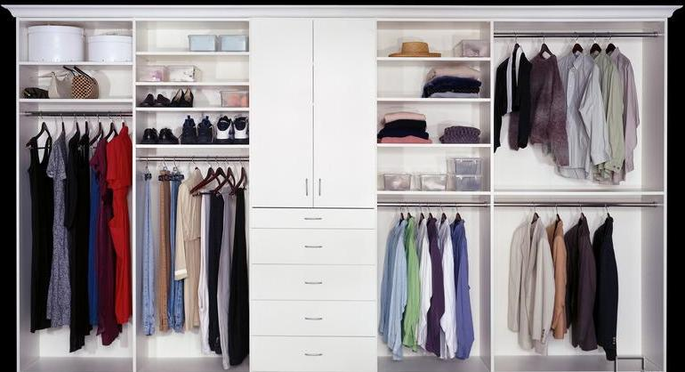 Walk-in closet - Chelsea apartment