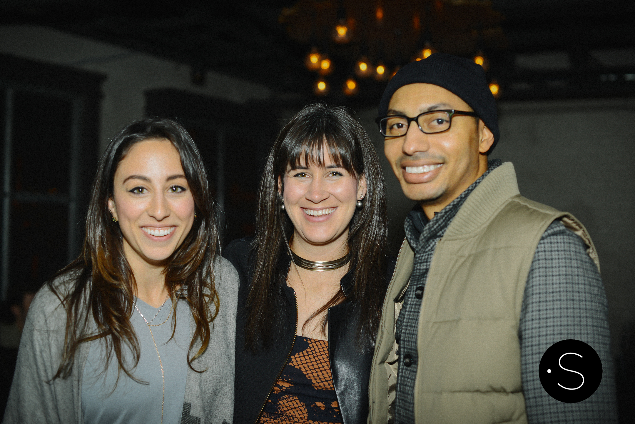 Rachelle Palasota, Mclaine Richardson and Robert Campbell