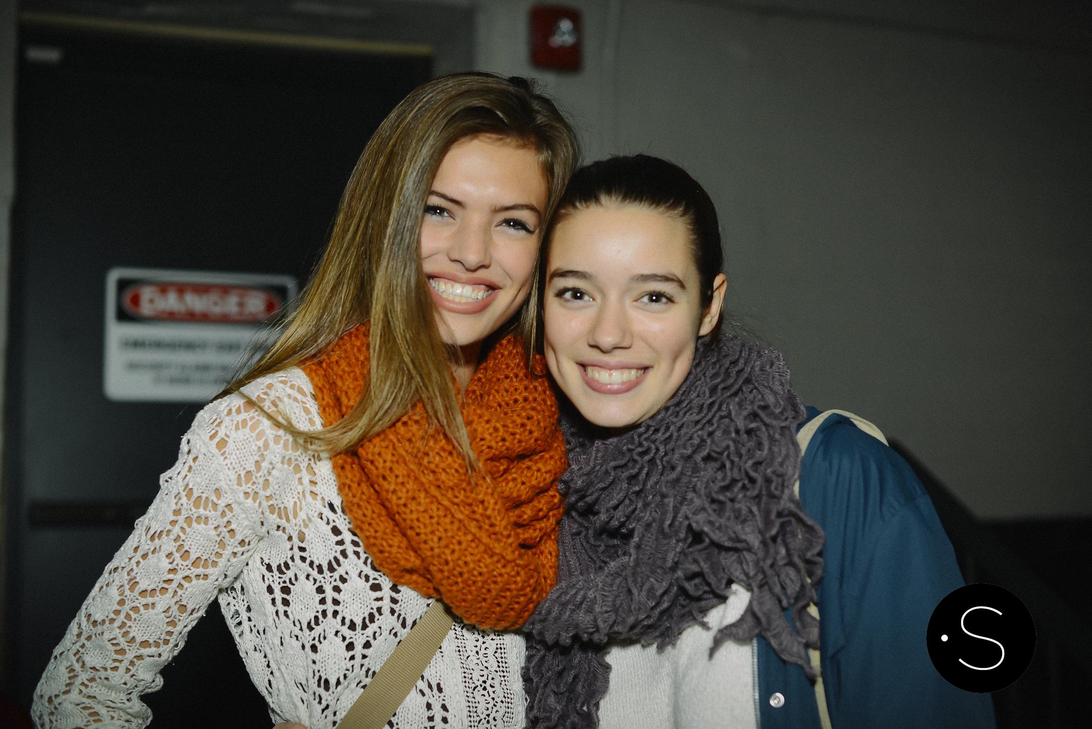 Sofie Rovenstine and Josie Tunnell