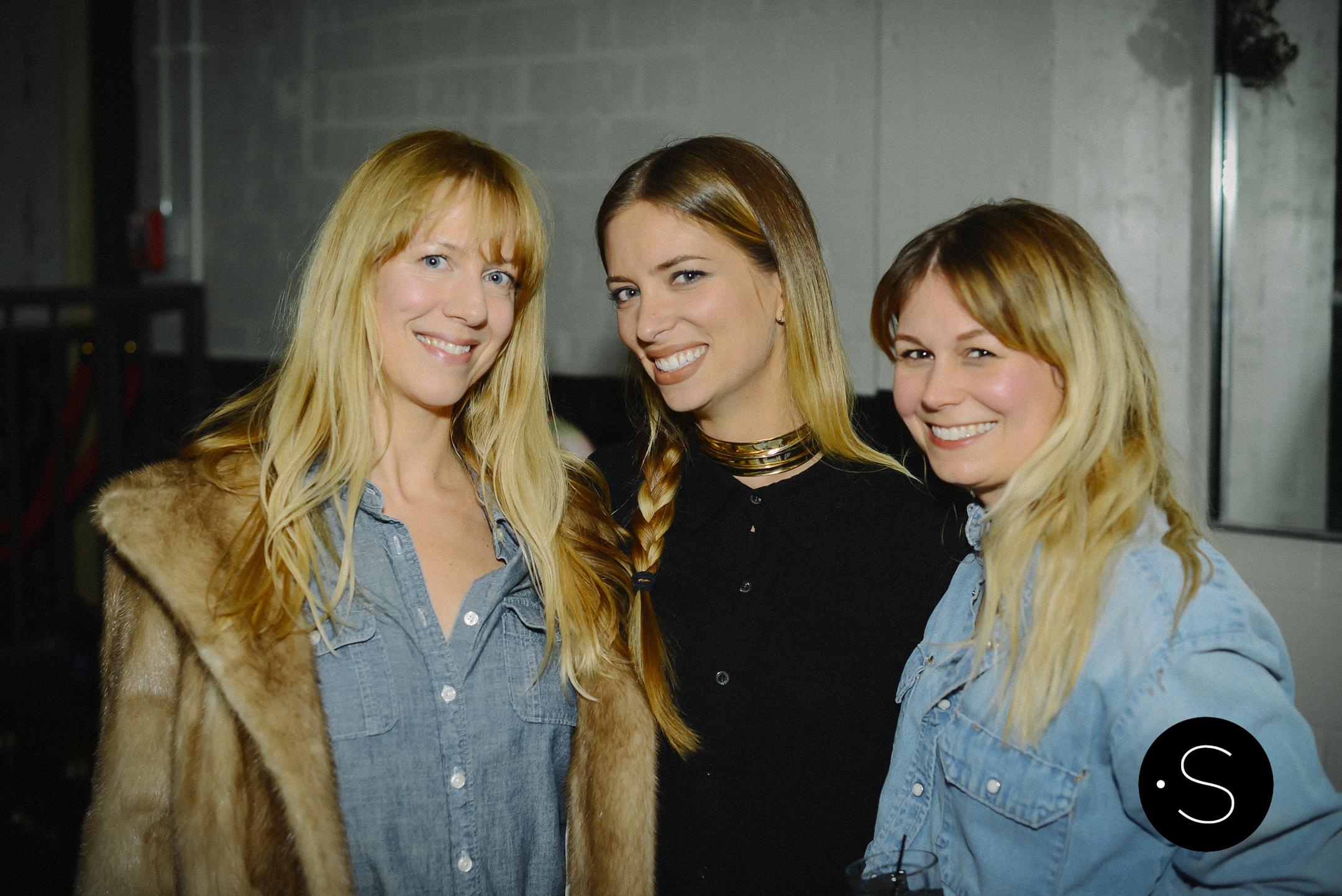 Amanda Valentine with her friends