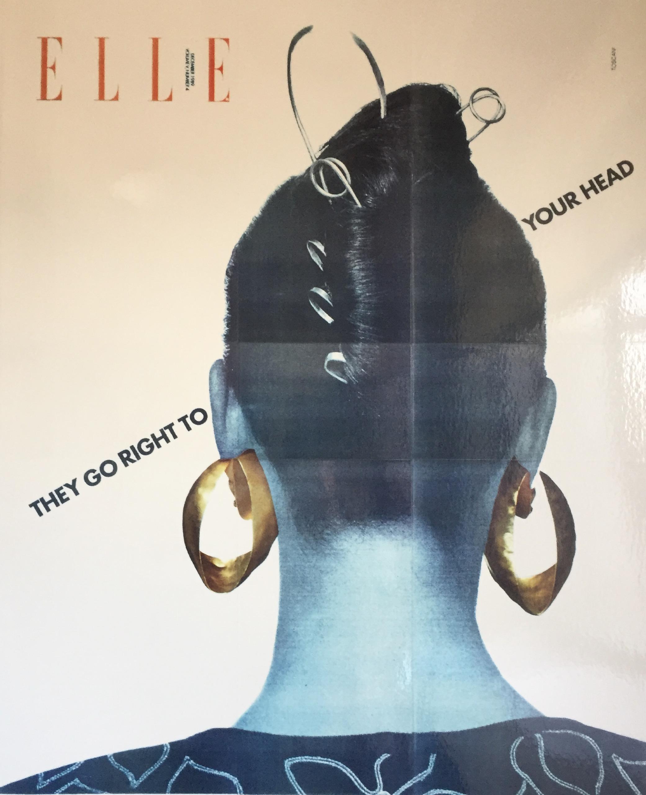 Margaret Ellis Loop Hoop,Elle Magazine 1989