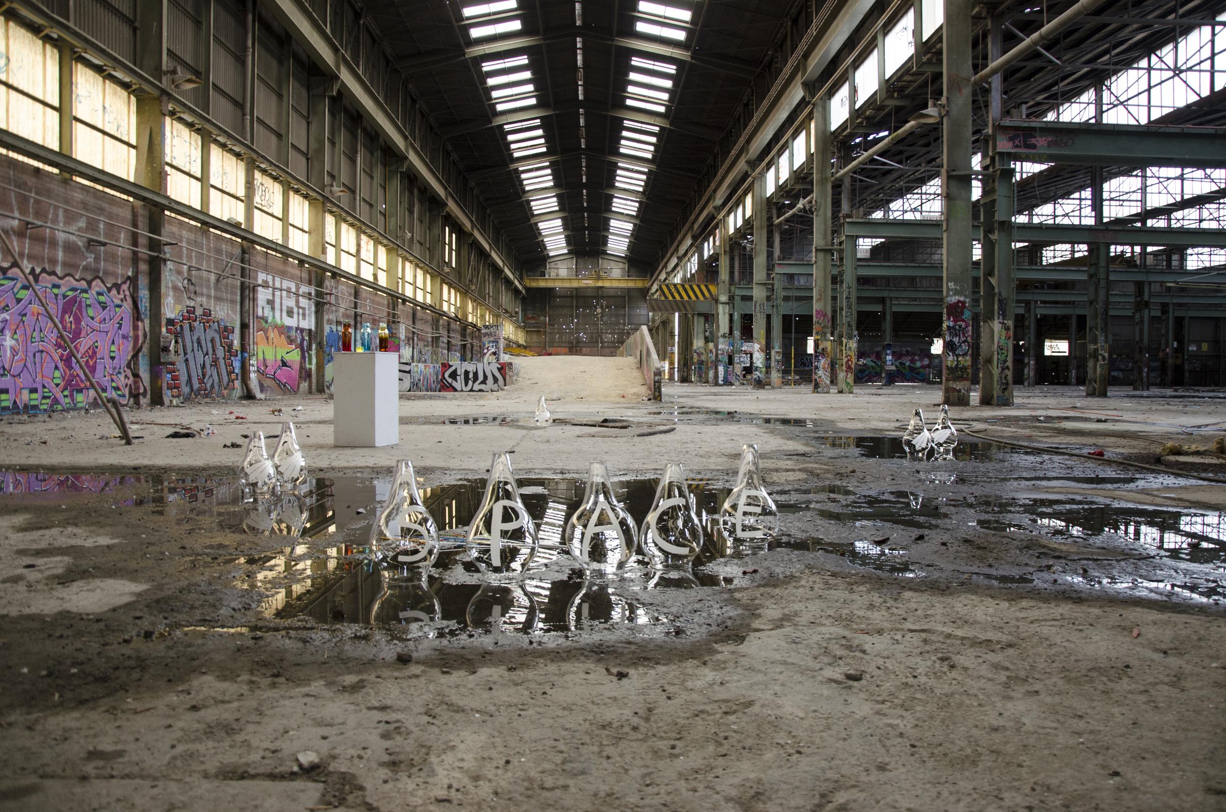 Abandoned CAT Factory  Photo credit Fernanda Pardo