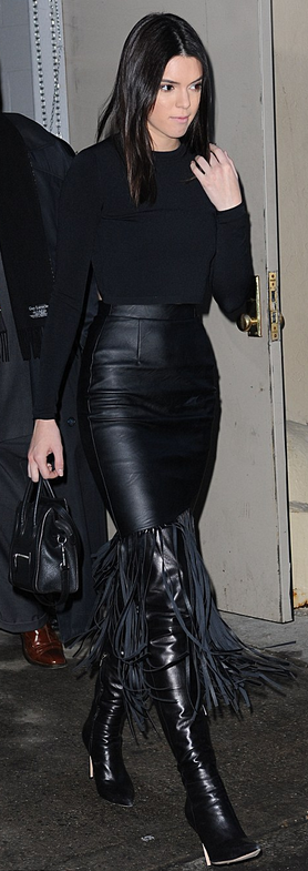 Kendall Jenner attending the Kanye West x Adidas Originals show at NYFW.   Photo © ACE/INFphoto.com