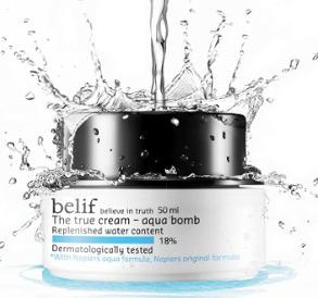 The True Cream Aqua Bomb available at Sephora
