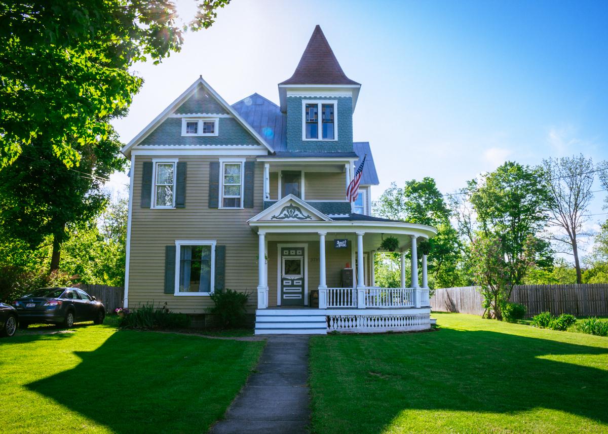 Burdett House - Exterior View