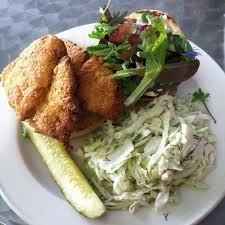 Stonecat Cafe - Catfish Sandwich
