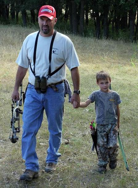 Dad with Brady