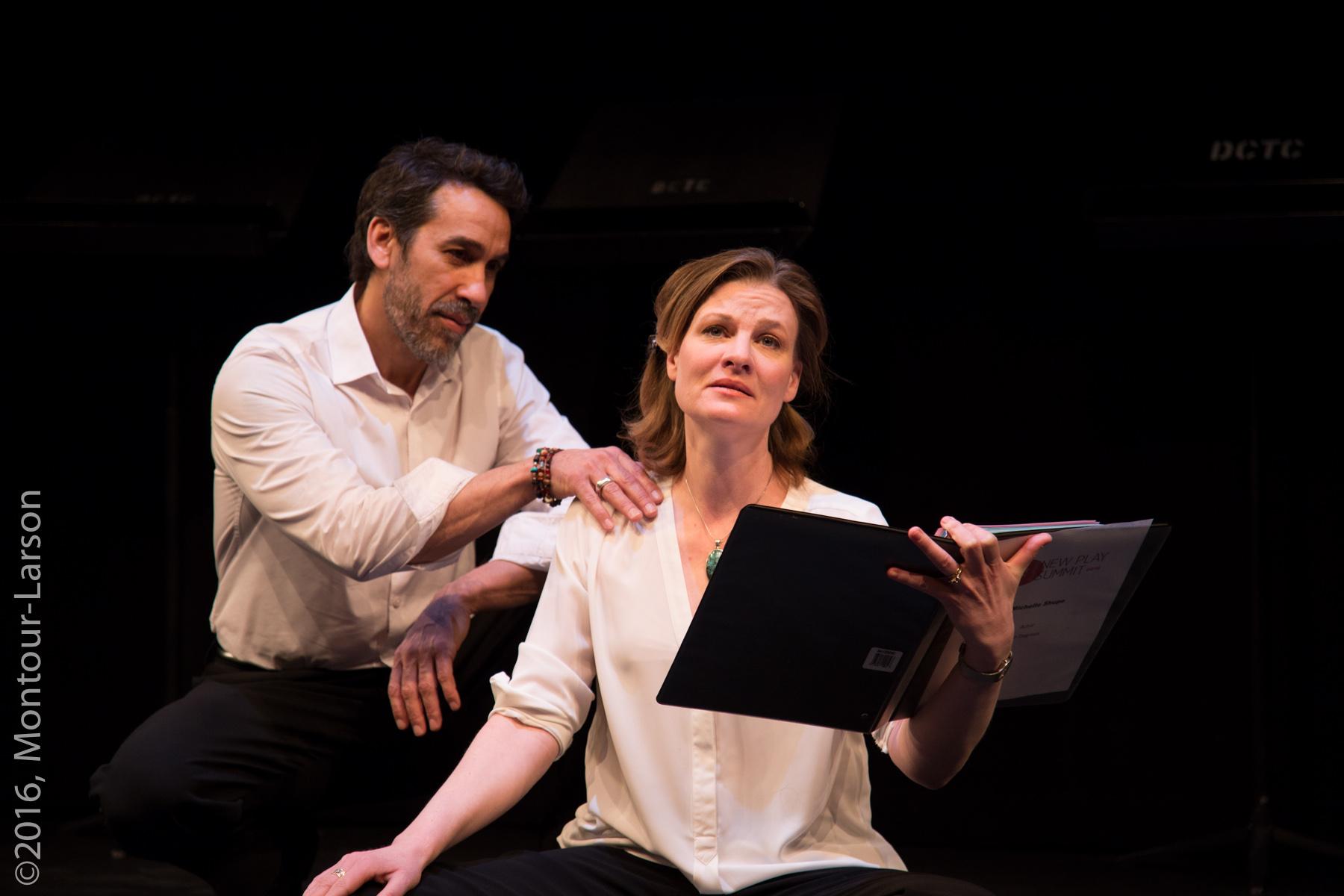 Jeffrey (Robert Montano) and Emma (Michelle Shupe) Denver Center New Play Summit 2016 Photo Credit: Mark Montour-Larson