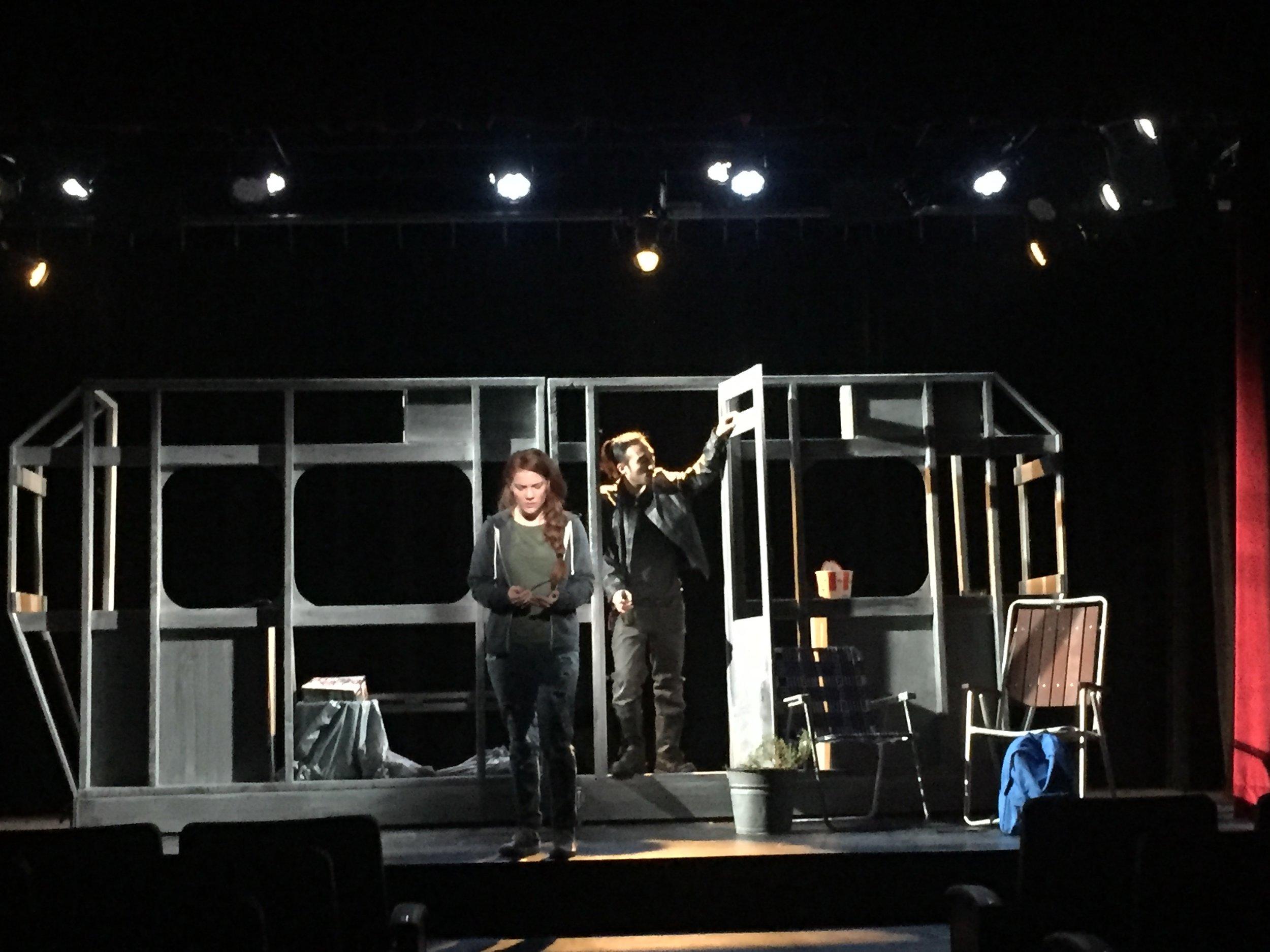 Jordan and Dwayne, New York Film Academy, 2016