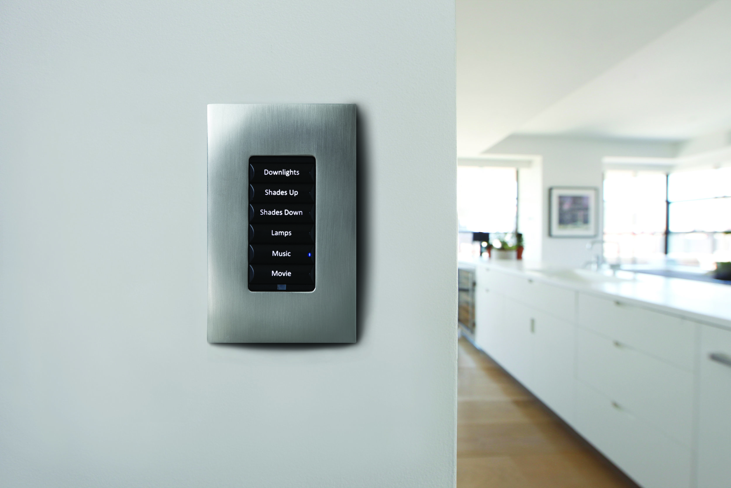 Wireless Lighting Control Keypad