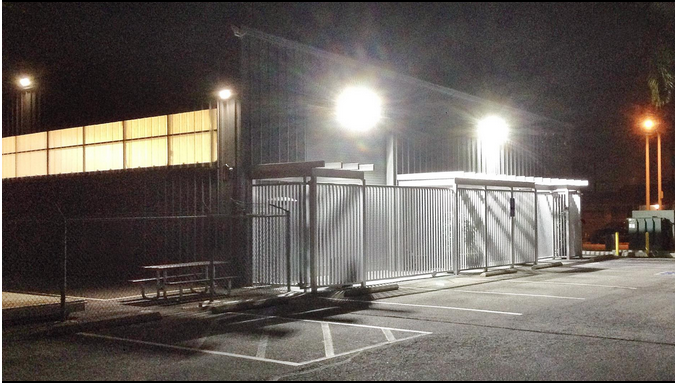 Security Lighting - Smart Installations will perform a security lighting assessment to identify any potential safety and security risks by surveying your businesses perimeter to ensure there are no black spots to ensure your property, product and staff are safe.