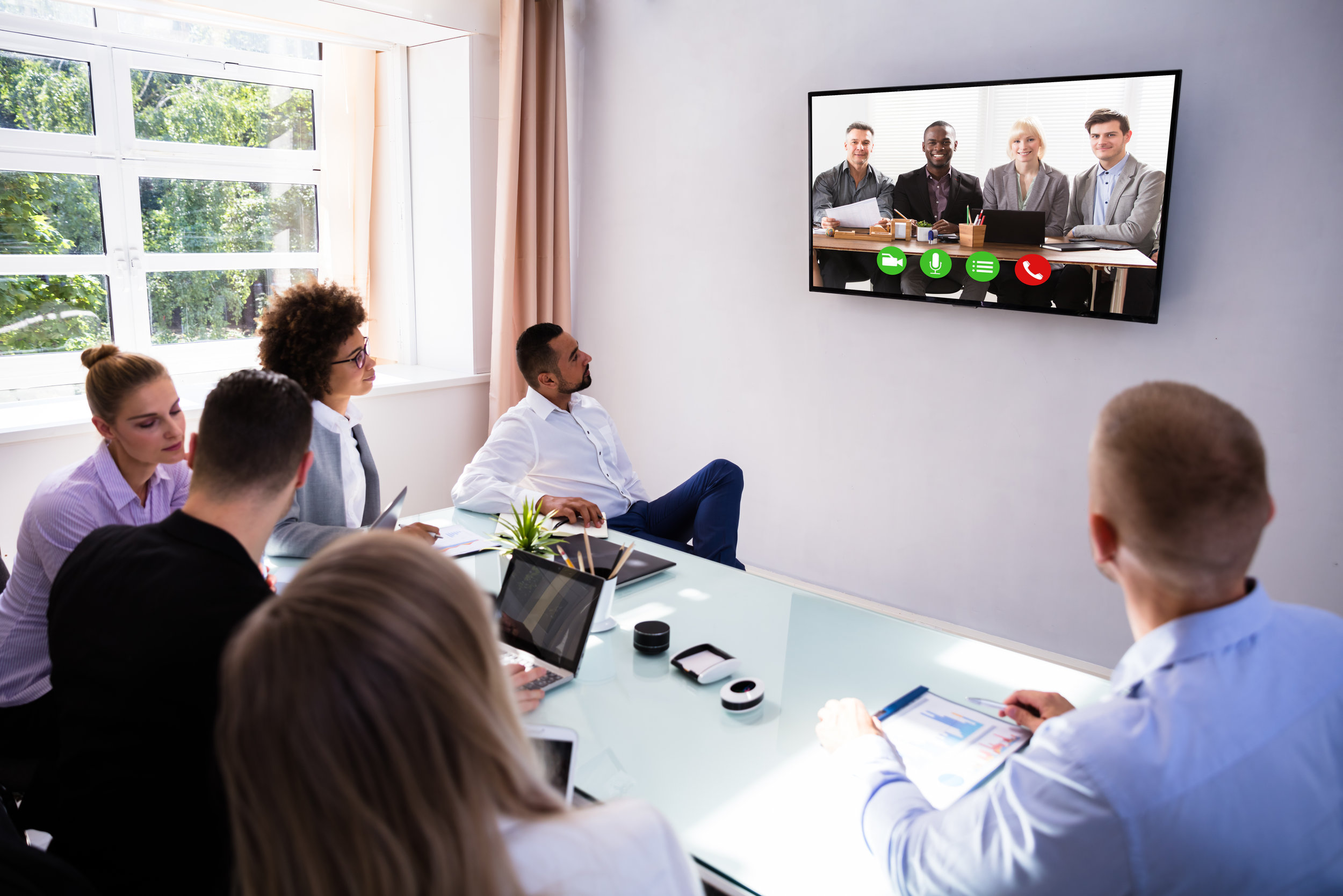 Video CONFERENCING - Smart Installations has a Video Conferencing solution to suit every size of business. With the correct network infrastructure in place you will be able to achieve up to 4K resolutions with full surround sound audio.