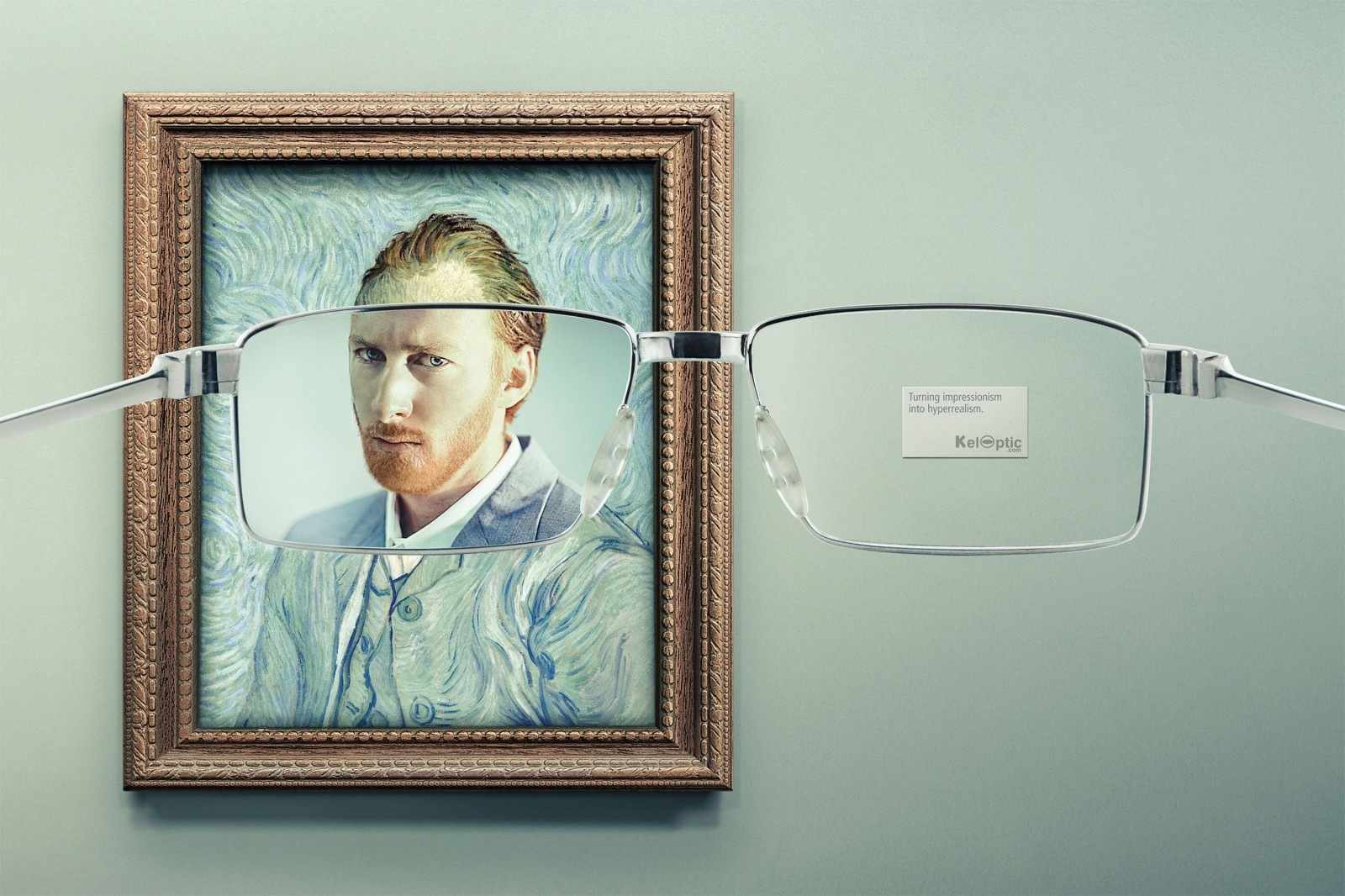 Y&R advertising campaign  for KelOptic, Paris, France