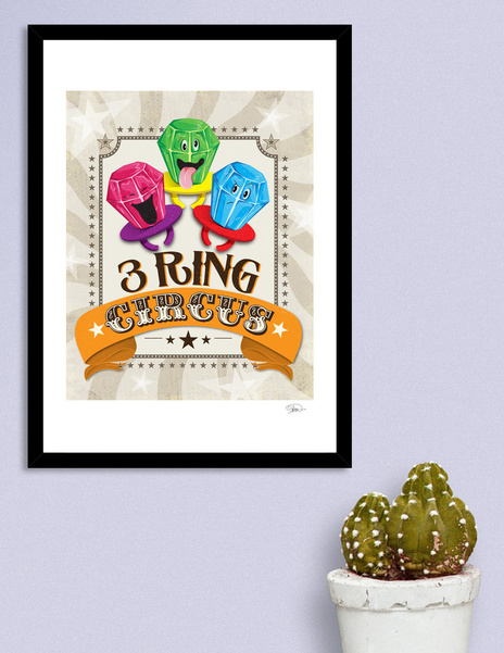 Limited Edition 3 Ring Circus, 2016