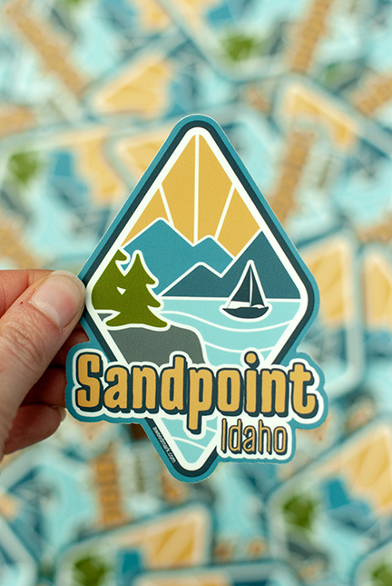 Sandpoint, Idaho sticker