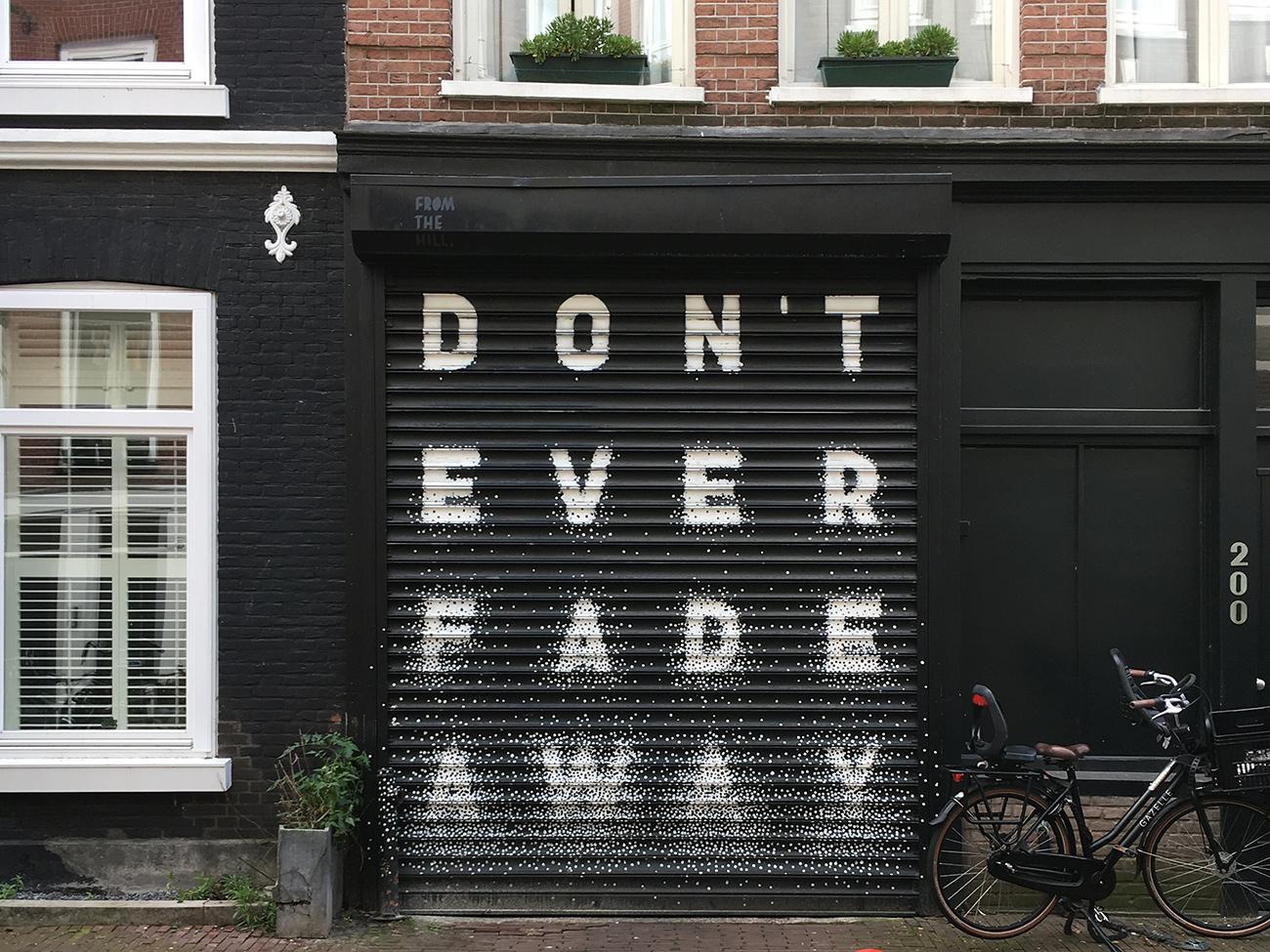 Photo taken on my Amsterdam 2017 trip