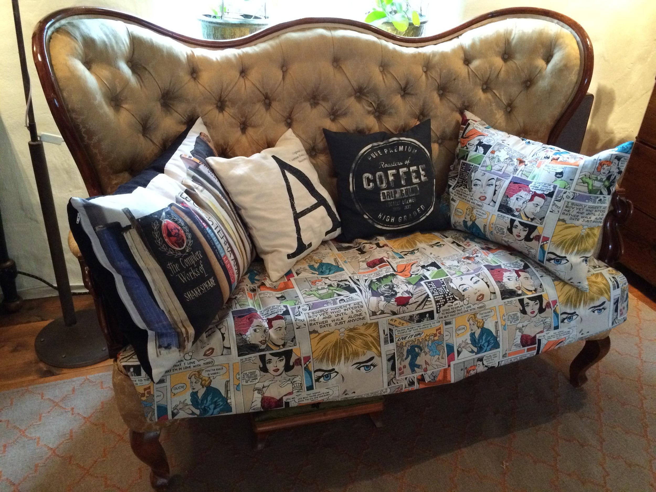 Den perfekta soffan för serieläsaren