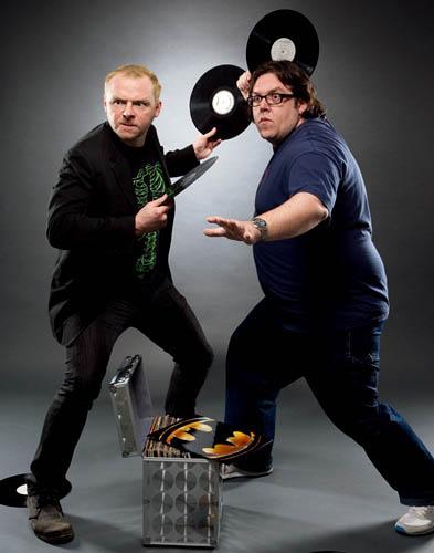 Simon Pegg & Nick Frost | Shaun Of The Dead