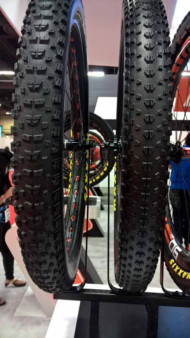 Maxxis Rekon+ (left) & Ikon+ (right)