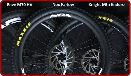 Carbon Wheel Comparison Test -  ENVE, Knight, NOX