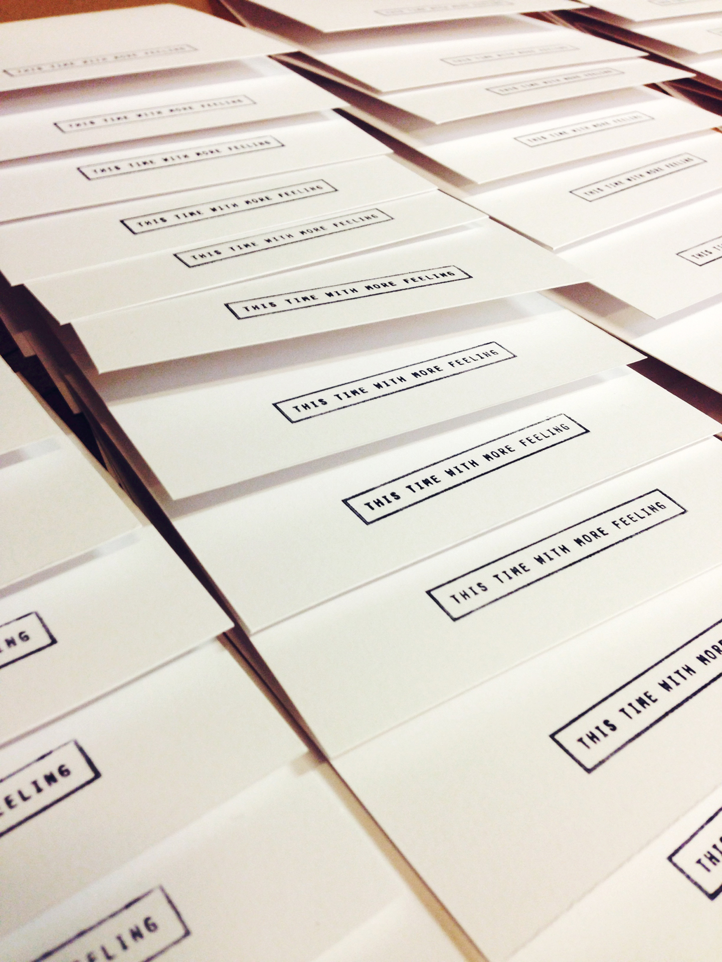 Putting the finishing touches on our grid cards. Coming to projects and the shop soon!