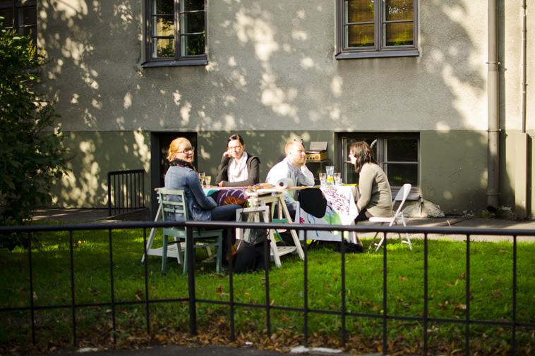 Cosy restaurant in Torkkelinmäki, 2011.