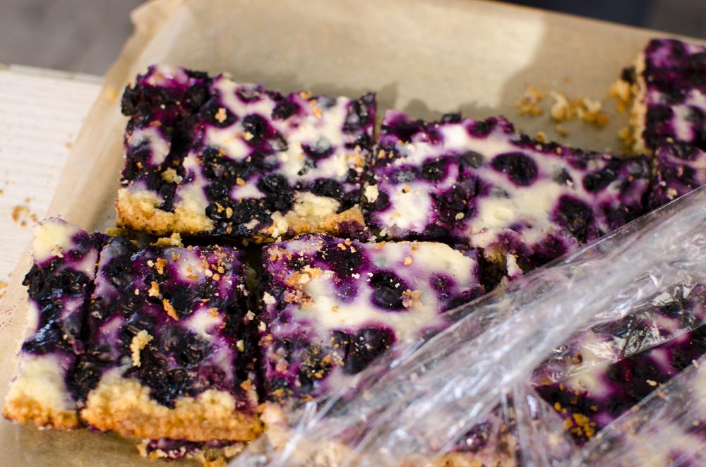Blueberry pie for Helsinki.