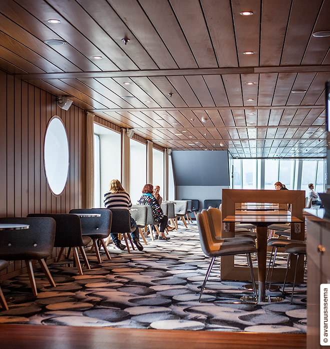 Eckerö Line'scomfortable Lounge Cafe is my favorite.Photo    ©  Avaruusasema