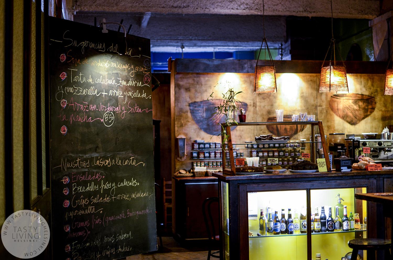 La Bascula  - A vegetarian restaurant where I always eat whenin Barcelona.