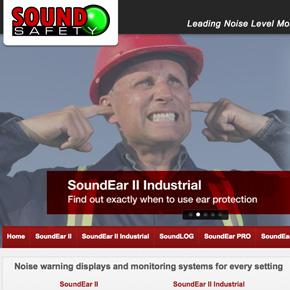 Soundsafety   Website Design