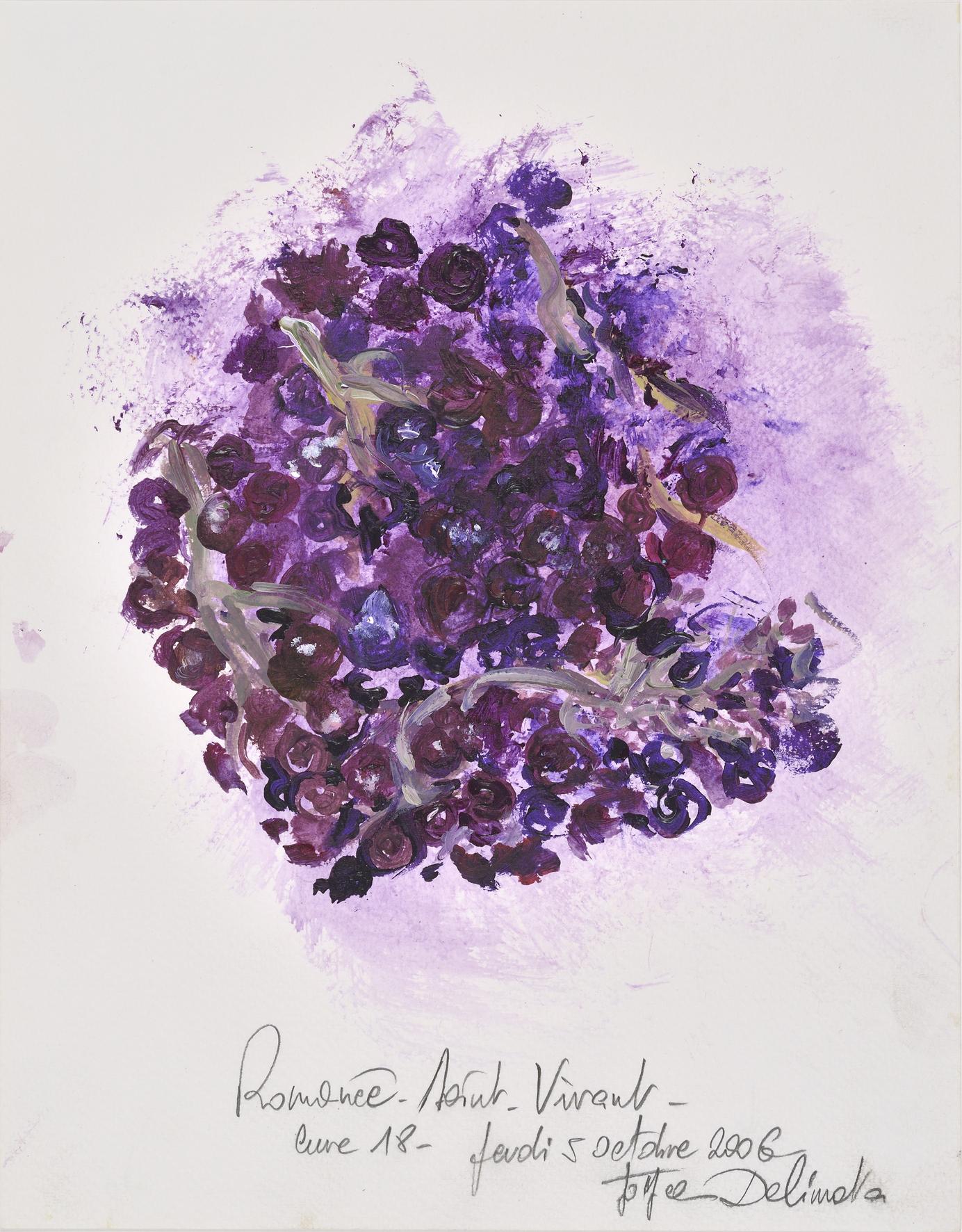 Ink sketch by Burgundy artist Joyce Delimata