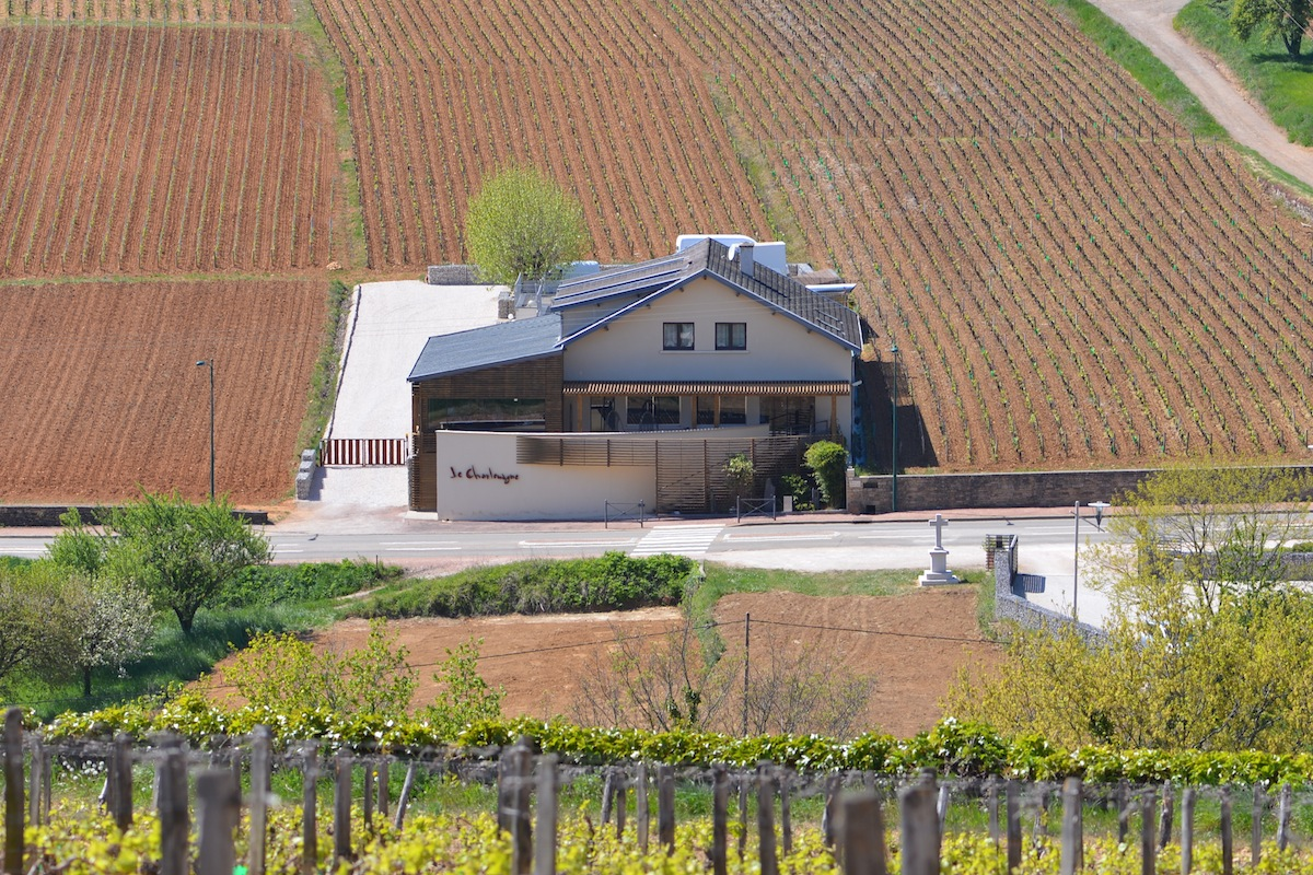 Le Charlemagne at Pernand Vergelesses -12 km north of Beaune - excellent but service can be slow Michelin *