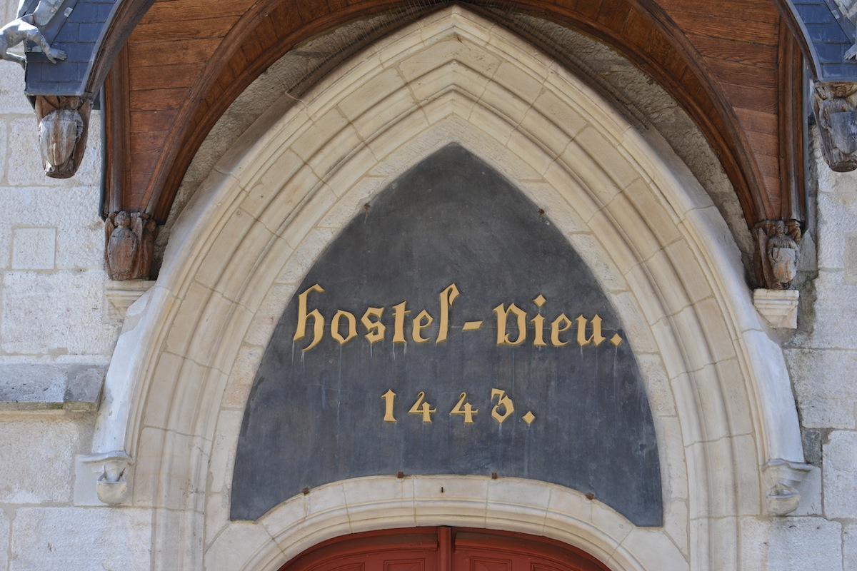 The Hotel Dieu - not an eatery, but a must see for anyone visiting Beaune!