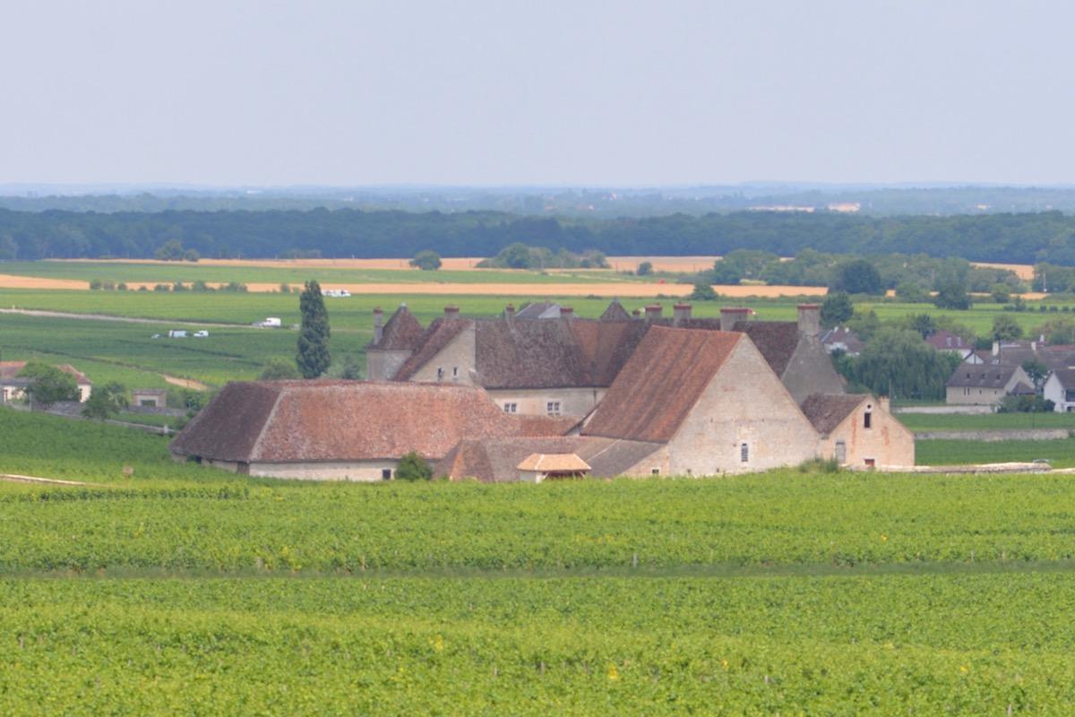 Chateau Vougeot, Burgundy, on 21 June 2017