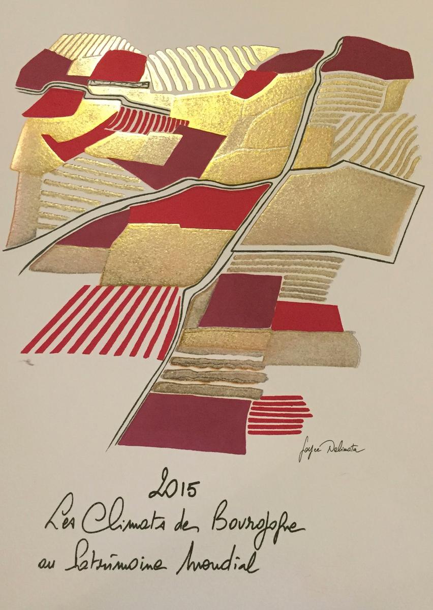 Burgundy artiste Joyce Delimata - Les Climats
