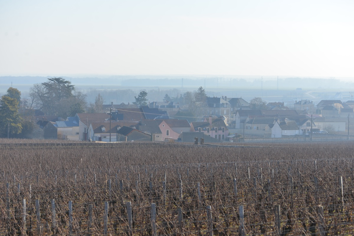 The village of Vosne Romanée