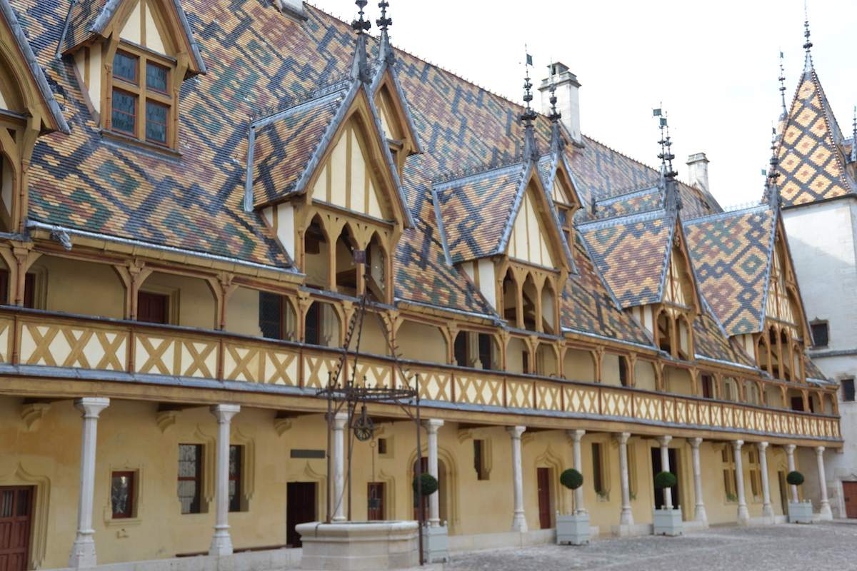The very photogenic, Hospices de Beaune