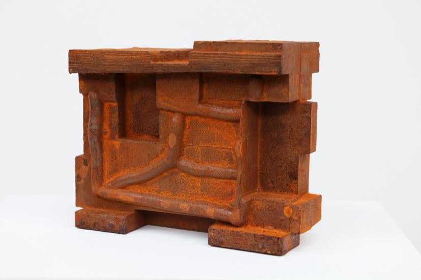 Taking Shape No. 8, 2013, cast iron, 22.8 x 28 x 11.4 cm