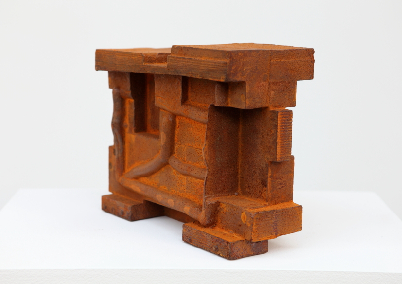 Taking Shape No. 8, 2013, cast iron, 22.8 x 28 x 11.4 cm