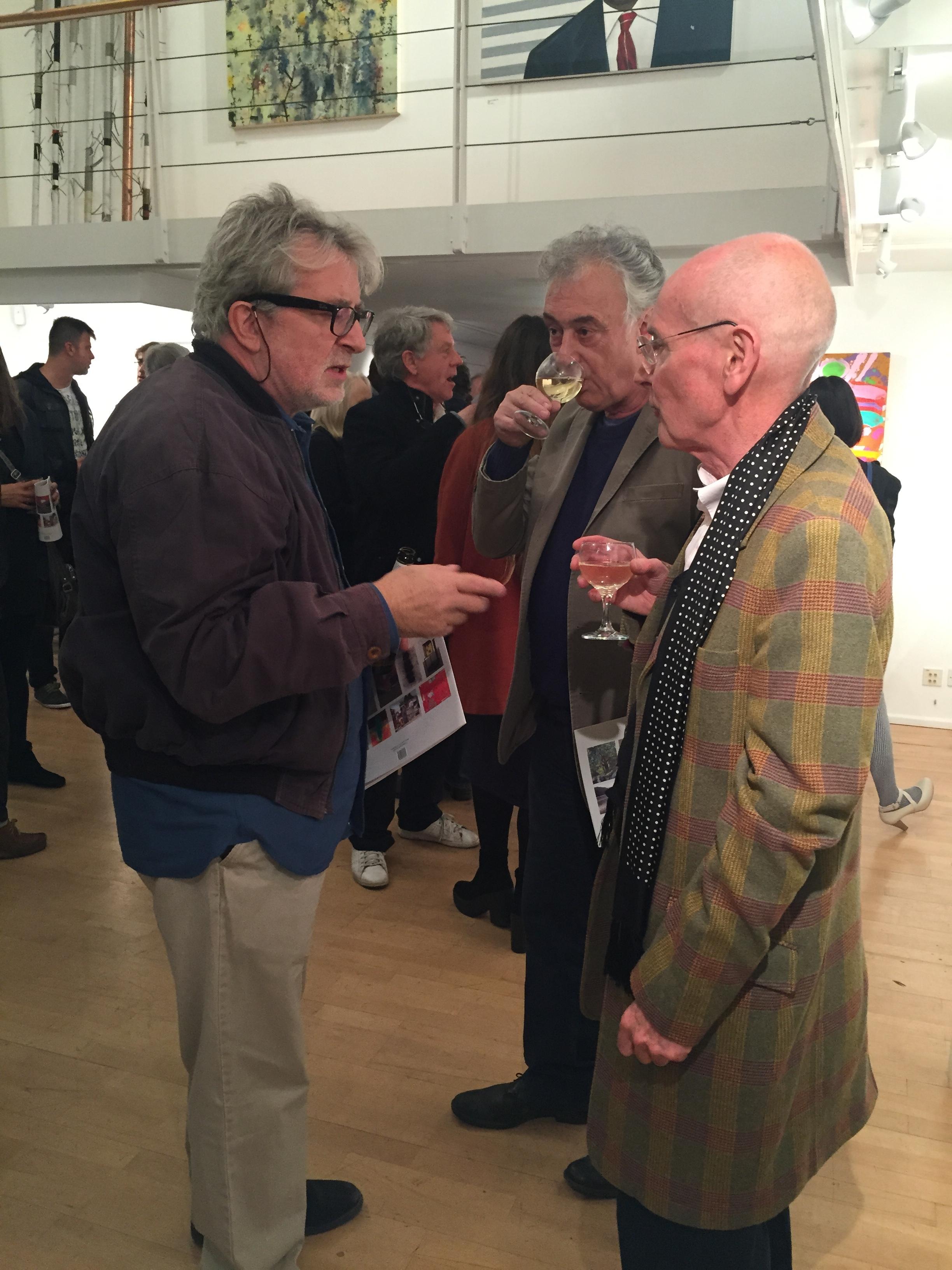 Jeff Lowe, John Crossley and Eric Moody